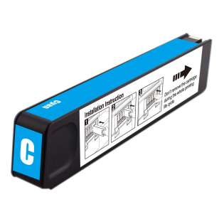 Premium HP 971XL, CN626AM ink cartridge, USA made, high capacity yield, cyan, 6600 pages