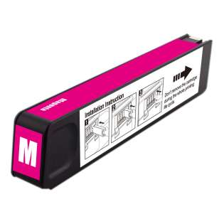 Premium HP 971XL, CN627AM ink cartridge, USA made, high capacity yield, magenta, 6600 pages