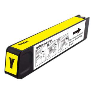 Premium HP 971XL, CN628AM ink cartridge, USA made, high capacity yield, yellow, 6600 pages
