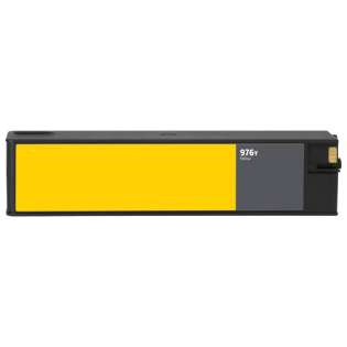 Remanufactured HP L0R07A (HP 976Y) ink cartridge - extra high capacity yellow