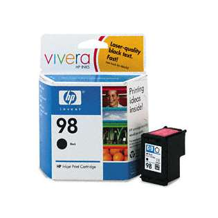 HP 98, C9364WN Genuine Original (OEM) ink cartridge, black
