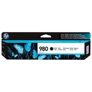 HP 980, D8J10A Genuine Original (OEM) ink cartridge, black
