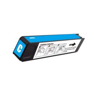 Remanufactured HP 980, D8J07A ink cartridge, cyan, 6600 pages