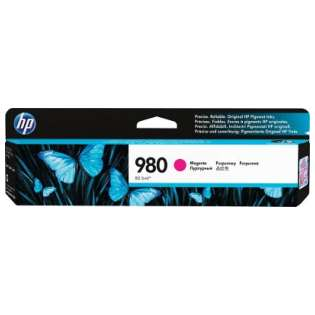 HP 980, D8J08A Genuine Original (OEM) ink cartridge, magenta
