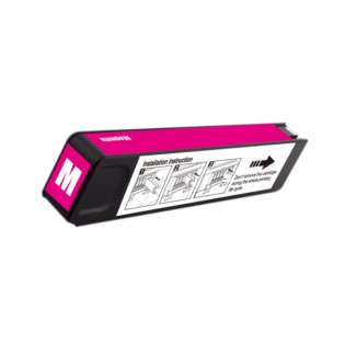 Remanufactured HP 980, D8J08A ink cartridge, magenta, 6600 pages