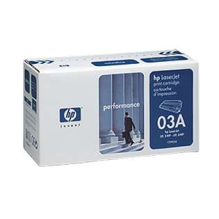 OEM HP C3903A / 03A cartridge - black