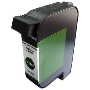 Remanufactured HP C6169A postage meter ink cartridge, spot color green