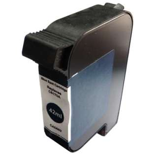 Remanufactured HP C6170A postage meter ink cartridge, spot color blue