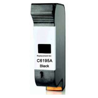 Replacement for HP C6195A cartridge - black