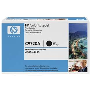 OEM HP C9720A / 641A cartridge - black