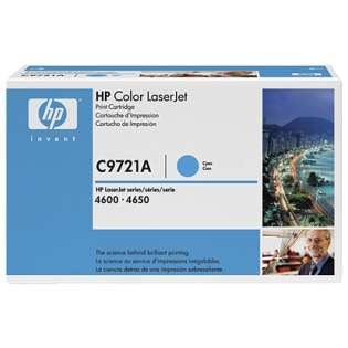 OEM HP C9721A / 641A cartridge - cyan