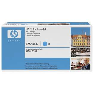 OEM HP C9731A / 645A cartridge - cyan