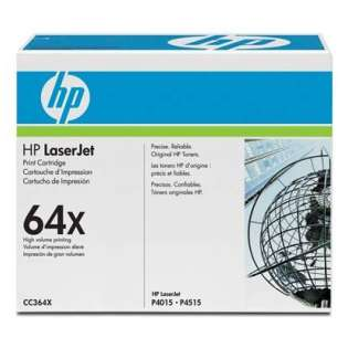 OEM HP CC364X / 64X cartridge - high capacity black