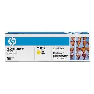 OEM HP CC532A / 304A cartridge - yellow