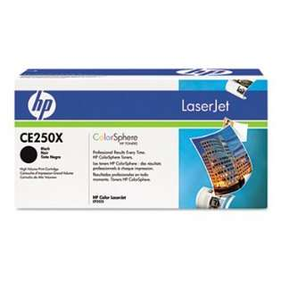 OEM HP CE250X / 504X cartridge - high capacity black
