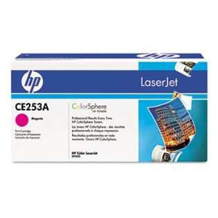 OEM HP CE253A / 504A cartridge - high capacity magenta