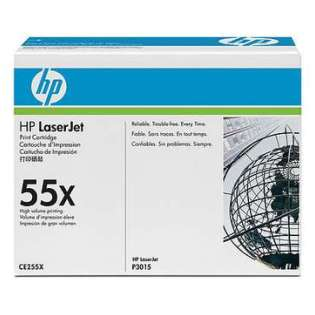 OEM HP CE255X / 55X cartridge - high capacity black