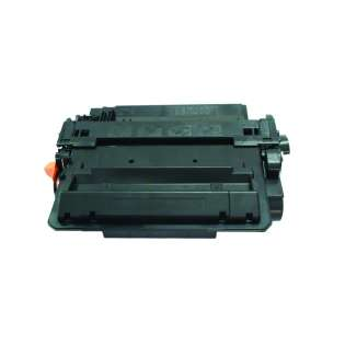 Compatible HP 55X, CE255X toner cartridge, 12500 pages, high capacity yield, black