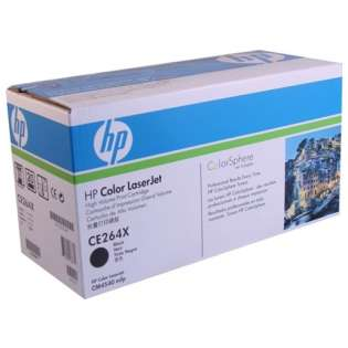 OEM HP CE264X / 646X cartridge - high capacity black