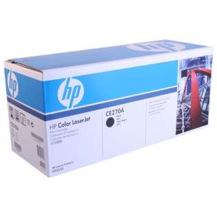 OEM HP CE270A / 650A cartridge - black