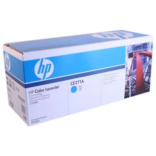 OEM HP CE271A / 650A cartridge - cyan