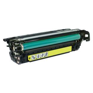 Compatible HP 646A Yellow, CF032A toner cartridge, 12500 pages, yellow