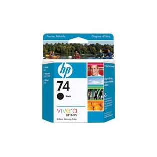 HP 74, CB335WN Genuine Original (OEM) ink cartridge, black