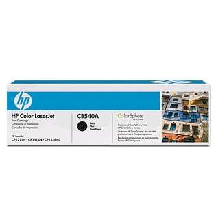 OEM HP CB540A / 125A cartridge - black