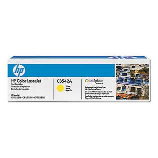 OEM HP CB542A / 125A cartridge - yellow