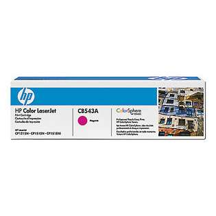 OEM HP CB543A / 125A cartridge - magenta