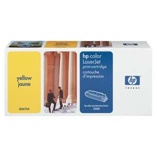 OEM HP Q2672A / 309A cartridge - yellow