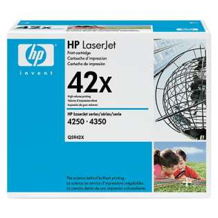OEM HP Q5942X / 42X cartridge - high capacity black