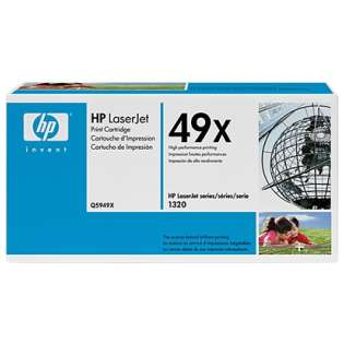 OEM HP Q5949X / 49X cartridge - high capacity black