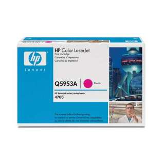OEM HP Q5953A / 643A cartridge - magenta