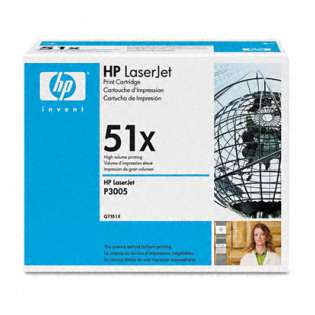 OEM HP Q7551X / 51X cartridge - high capacity black