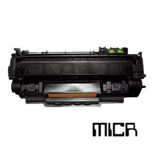 Replacement for HP Q7553A / 53A cartridge - MICR black