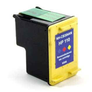 Remanufactured HP CB304AN / 110 ink cartridge - color
