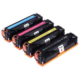 Compatible HP 308A, 309A, Q2670A, Q2671A, Q2672A, Q2673A toner cartridges (pack of 4)