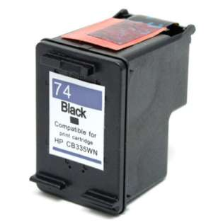 Remanufactured HP CB335WN / 74 cartridge - black