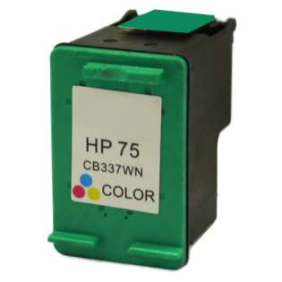 Remanufactured HP CB337WN / 75 cartridge - color