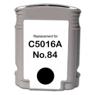 Remanufactured HP C5016A (84) inkjet cartridge - black