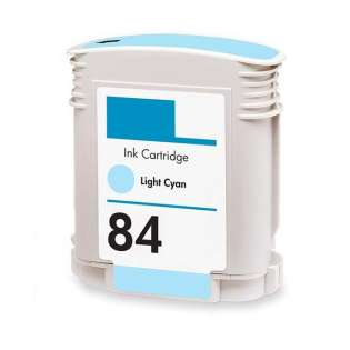 Remanufactured HP C5017A (84) inkjet cartridge - light cyan