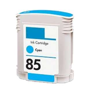 Remanufactured HP 85 inkjet cartridge - cyan