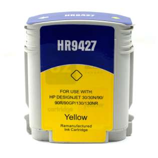 Remanufactured HP 85, C9427A ink cartridge, yellow