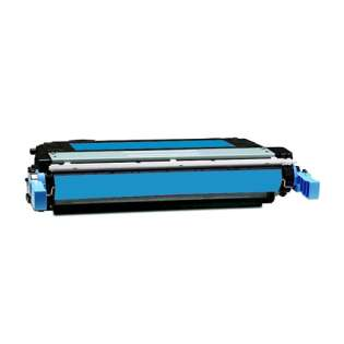 Compatible HP 642A Cyan, CB401A toner cartridge, 7500 pages, cyan