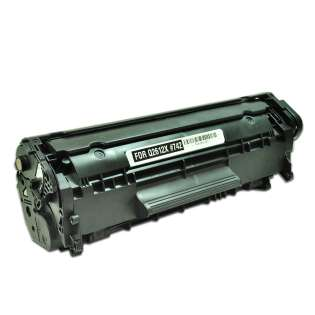 Compatible HP 12X, Q2612X toner cartridge, 4000 pages, high capacity yield, black