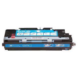 Compatible HP 309A Cyan, Q2671A toner cartridge, 4000 pages, cyan