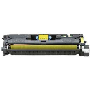 Compatible HP 122A Yellow, Q3962A toner cartridge, 4000 pages, yellow