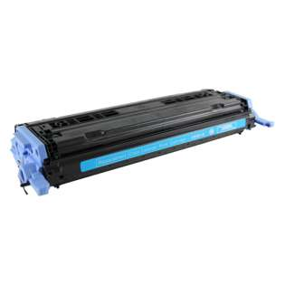 Compatible HP 124A Cyan, Q6001A toner cartridge, 2000 pages, cyan