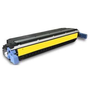 Compatible HP 502A Yellow, Q6472A toner cartridge, 4000 pages, yellow
